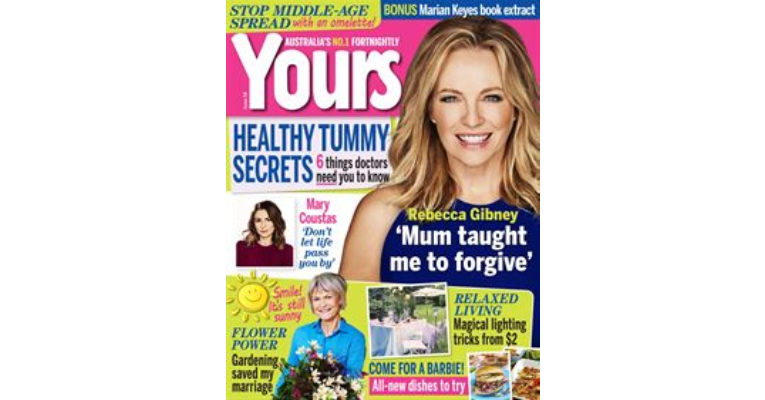 Yours Magazine – August  2016