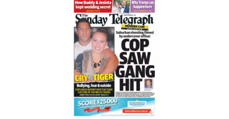 Sunday Telegraph – November 2016